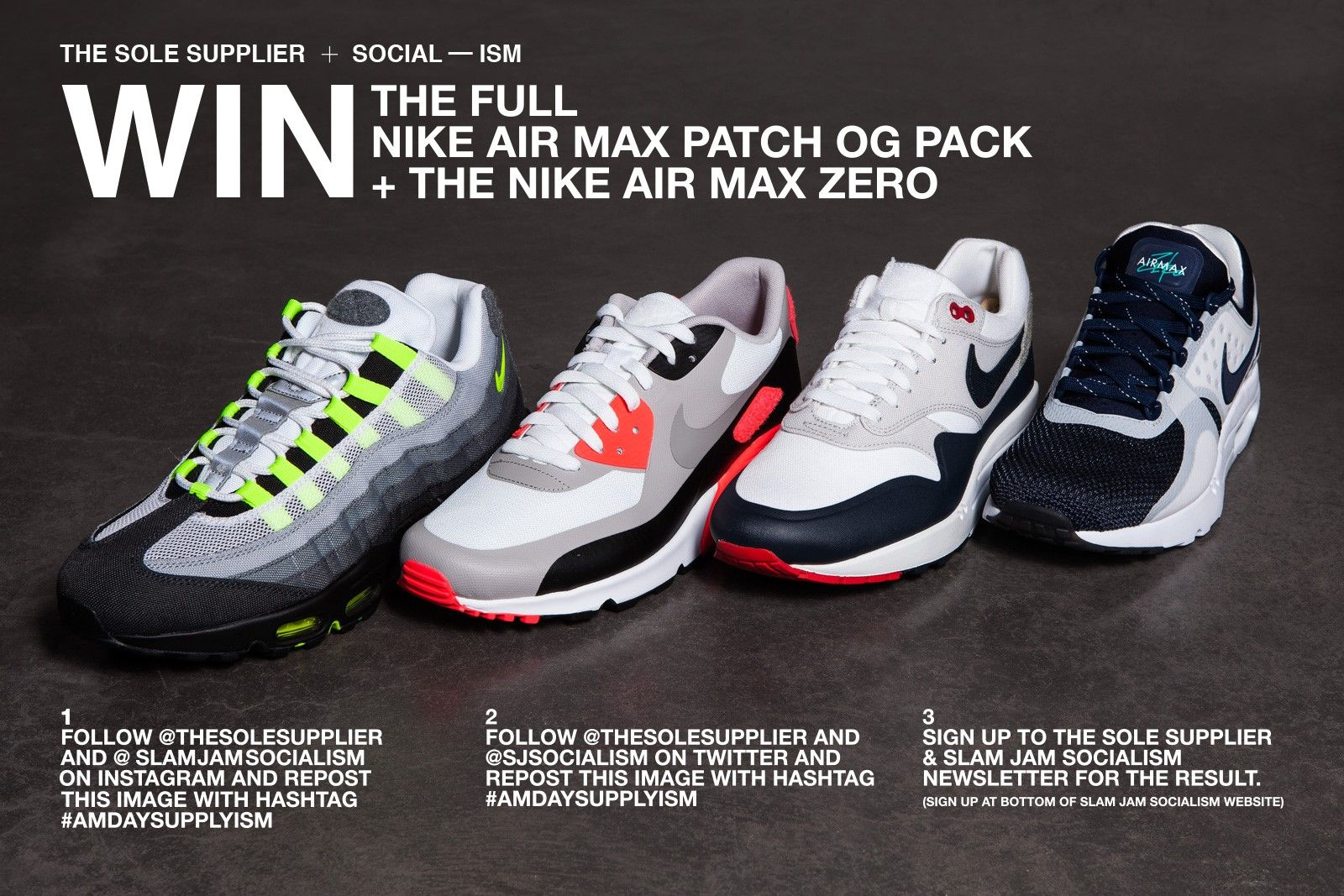 the best attitude f8594 ddc0c WIN Air Max OG Patch Pack & AM Zero | March 2015 | Nike air ...
