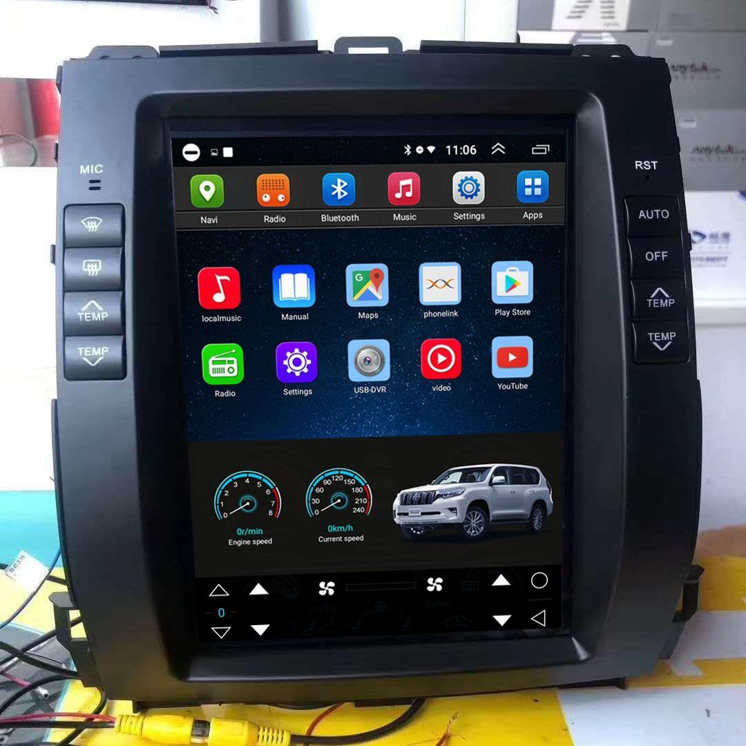 Vertical Screen 10 4 Inch Head Unit For Toyota Prado 2002 2009 Car Stereo Installation Mirror Link Car Audio Systems