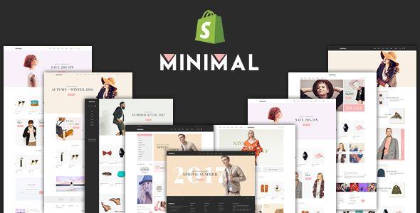 JMS Minimal v13 - Responsive Shopify Theme shopify Pinterest
