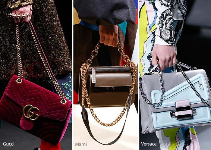 Fall Winter 2016 2017 Handbag Trends Famous Name Purses