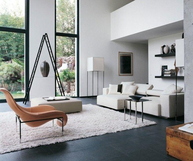 Contemporary Home Style By B B Italia Com Imagens Decoracao