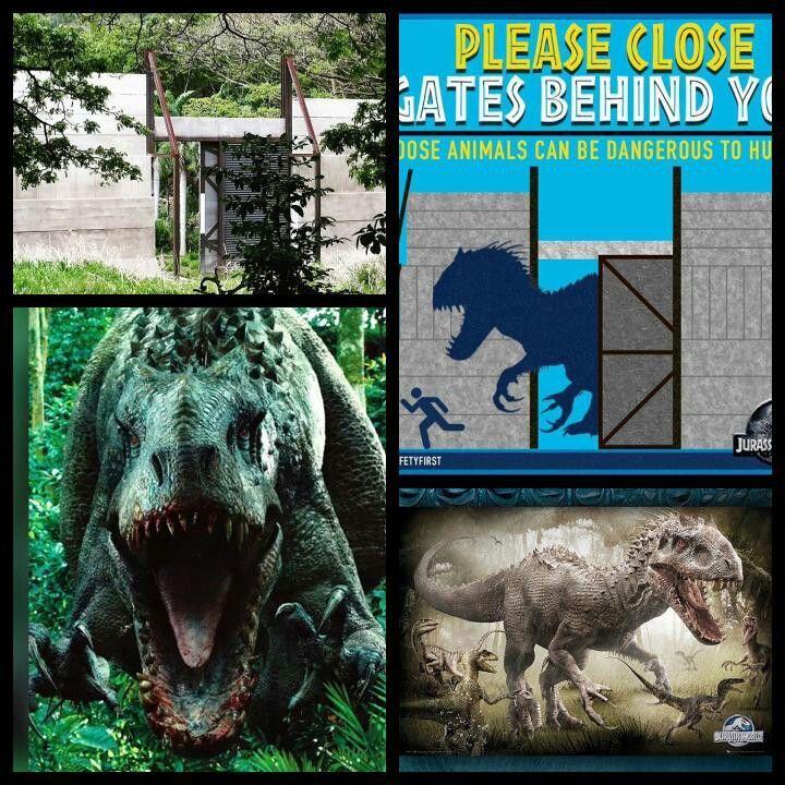 Jurassic World *The Indominus Rex Enclosure. Attraction