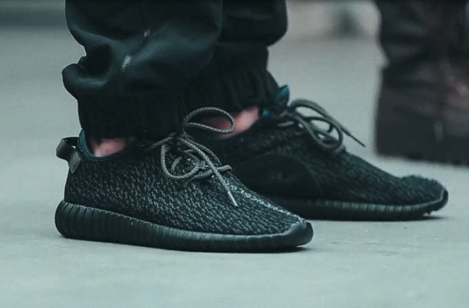b3895d2e57a0 A possible release date for the all-black adidas Yeezy Boost 350 has been  revealed.
