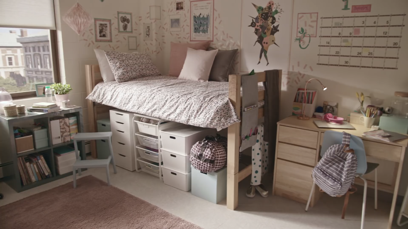 Ikea Dorm Room Dorm Furniture Single Dorm Room Girls Dorm Room