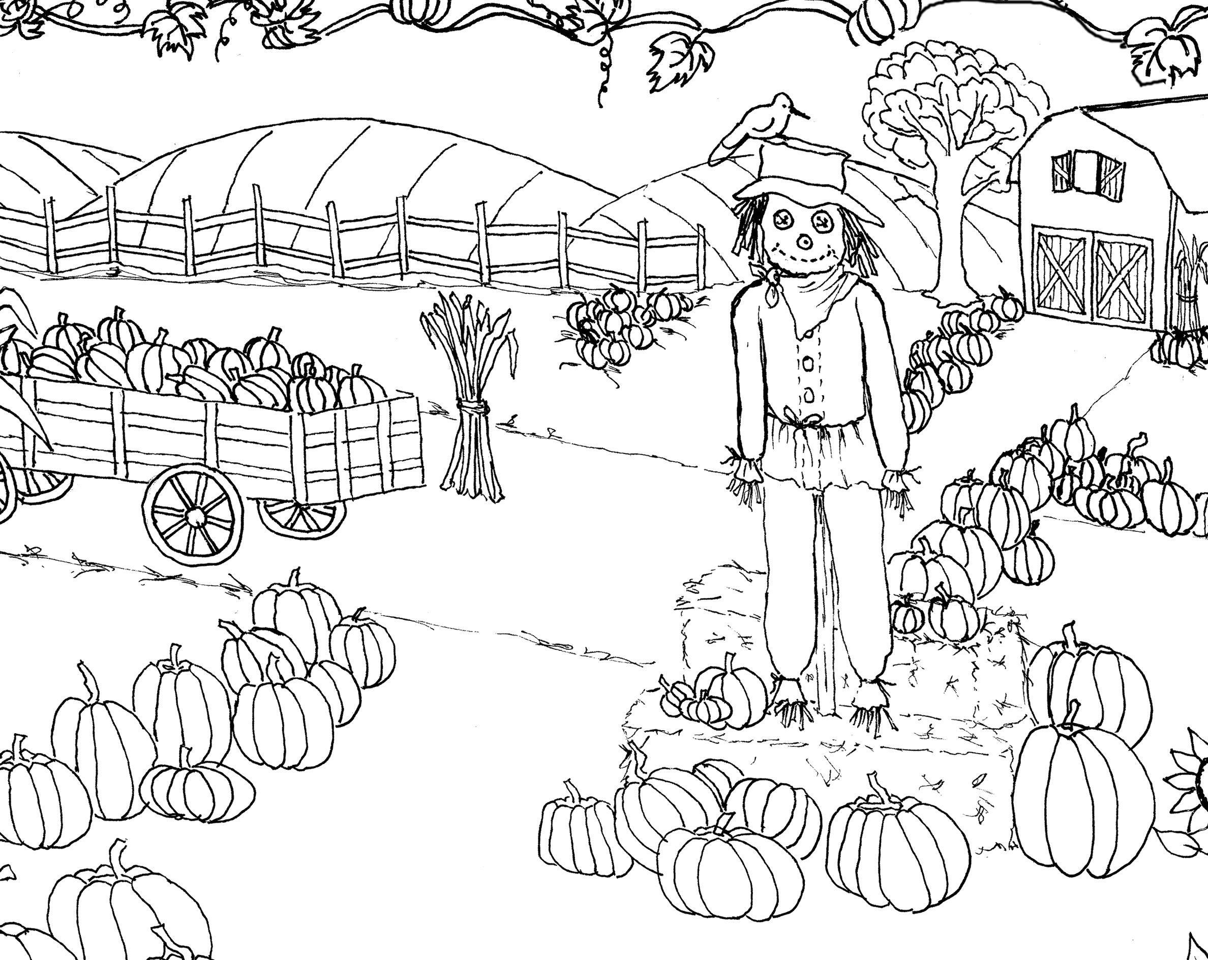 Pumpkin Patch Coloring Pages Zu9x Pumpkin Patch Coloring Page
