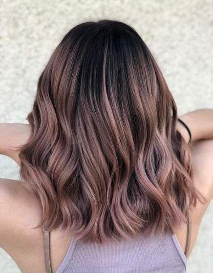 62 Ideas Hair Highlights Rose Gold Instagram – Modern