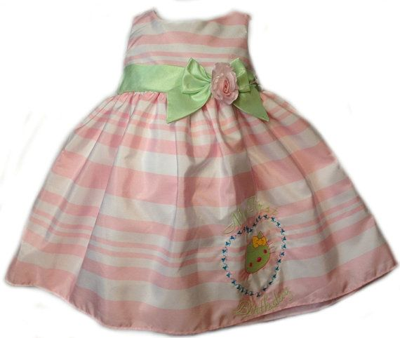 Birthday dress/ First Birthday embroidered by Embroidea on Etsy, $57.00
