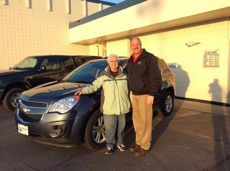 Congratulations Mary Tetrick on the purchase of your 2014