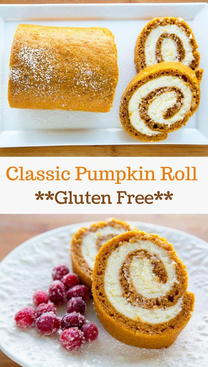 Pumpkin Roll Recipe Enjoy My Gluten Free Version Of This Holiday