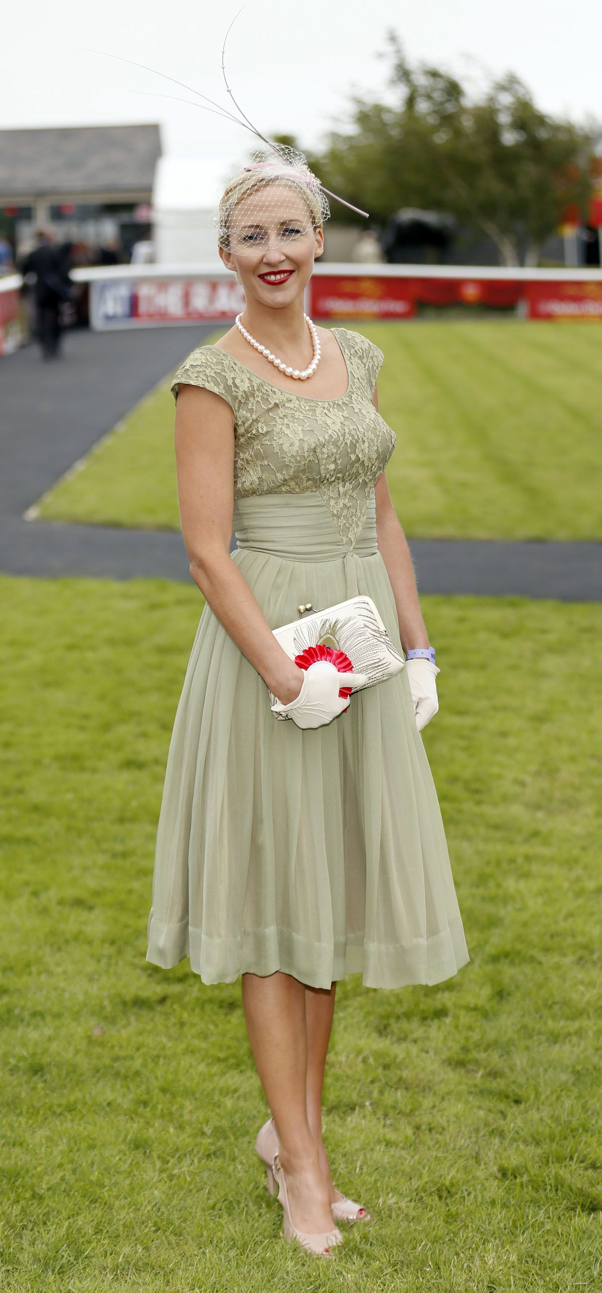 Alison Walsh at the Debenhams\' Ultimate Ladies Day competition at ...