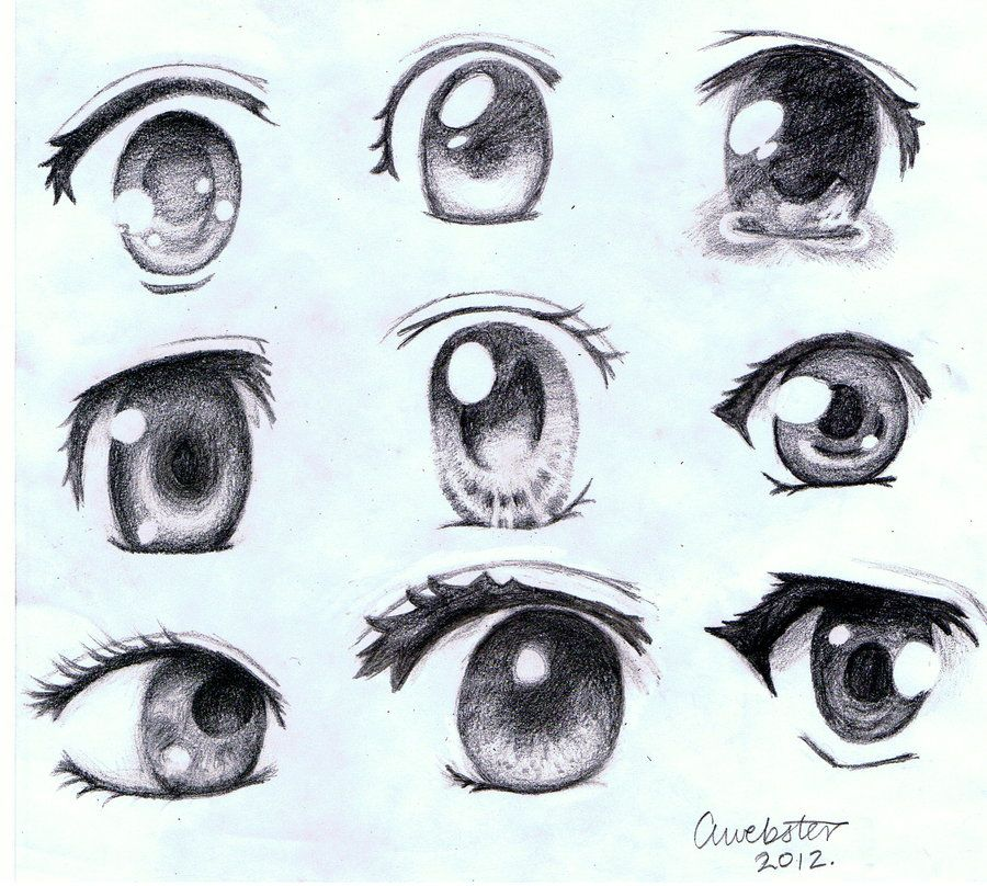 Tutorial Here Nbsp Fav Me D808a1x Some More Eyes I Drew Different Types Of Girl Anime Eyes Please Feel Free To Anime Eye Drawing Cute Eyes Drawing Drawings