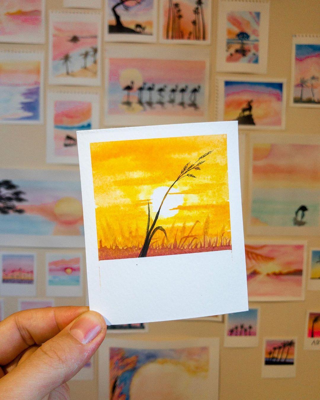Robert Talbot On Instagram Paintbrush Polaroids 20 9 19 3 5x4
