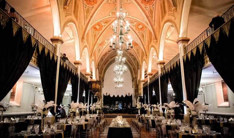 A Great Gatsby-themed wedding at Le Salon Richmond in ...