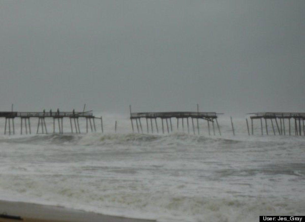 Avalon Pier In North Carolina | Miscellaneous | Hurricane