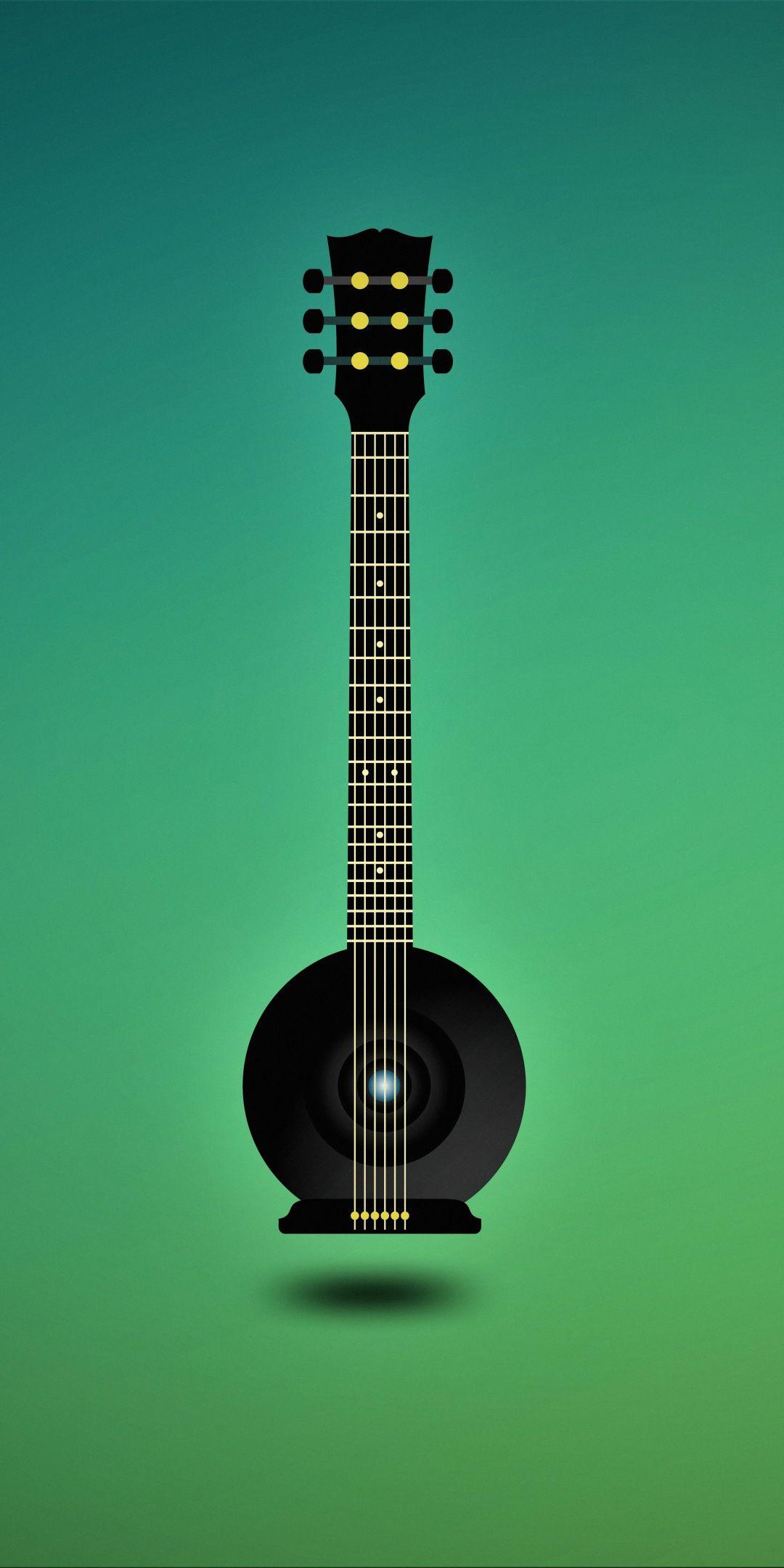 Music Guitar Minimal Art 1080x2160 Wallpaper Acoustic Guitar Photography Wallpaper Guitar