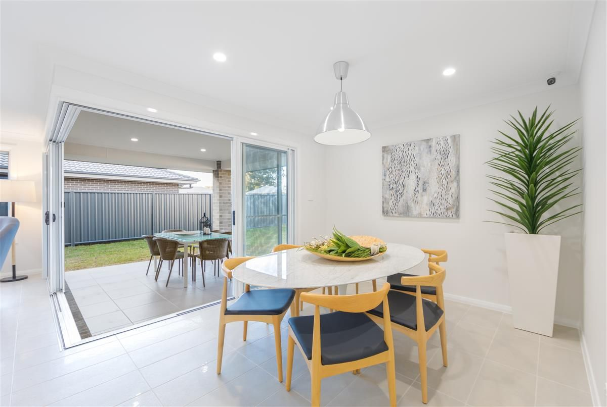 The Coolum 225 breathes new life into the traditional family home. This design has all the features you're after, including four bedrooms, two bathrooms, a media room, activity room and separate study, and an entertainer's kitchen overlooking a huge open-plan living area and covered alfresco. The main bedroom is kept separate from the other zones, creating a private retreat to escape to. Always feel calm and relaxed in your home with the open layout and natural light access. #displayhomes