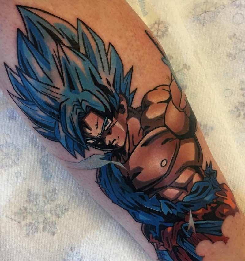 The Very Best Dragon Ball Z Tattoos Tatoo