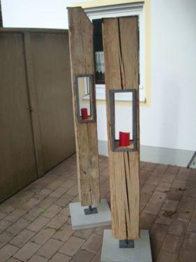 Holzbalken hnliche tolle projekte und ideen wie im bild for Gartendeko holzbalken