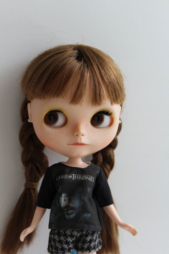 Game Of Thrones T-shirt for Blythe by MotaDeAlgodon
