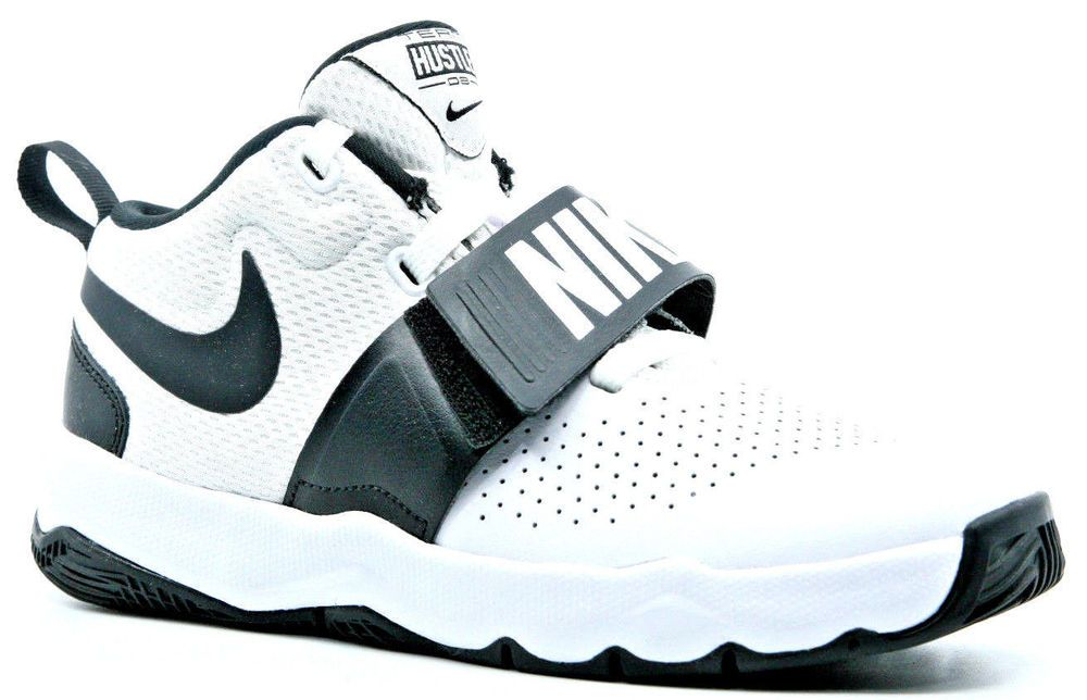 476544d8dd1d9a Nike Team Hustle D 8 HP 881942-100 Young MODA Shoes Size 3Y White Black  (eBay Link)