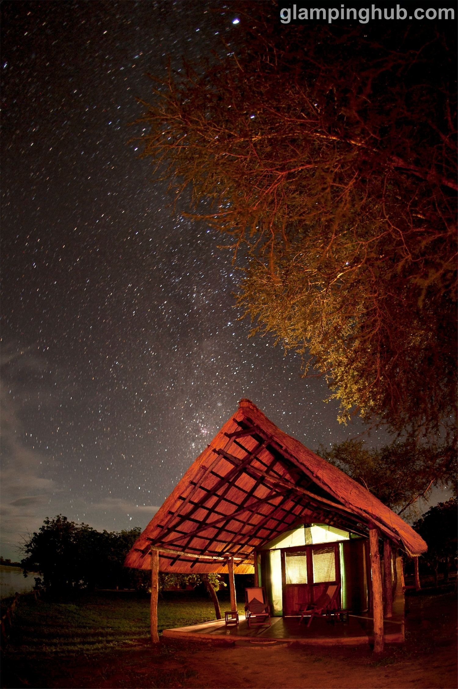 Luxury Tents Zambia | #glamping South Luangwa National Park | safari tents Africa