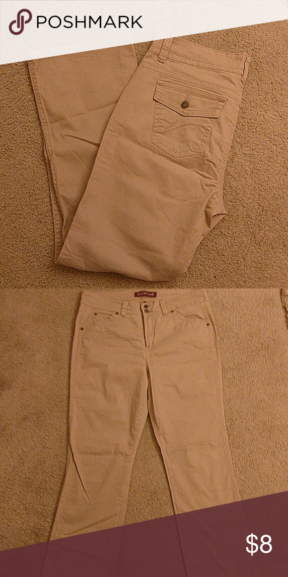 Kacki pants. Brand New Gloria Vanderbilt Gloria Vanderbilt Pants Boot Cut & Flare