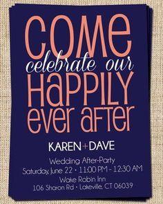 13 Bridal Shower Invite Ideas Wedding Announcement WordingWedding Reception Invitation WordingElopement