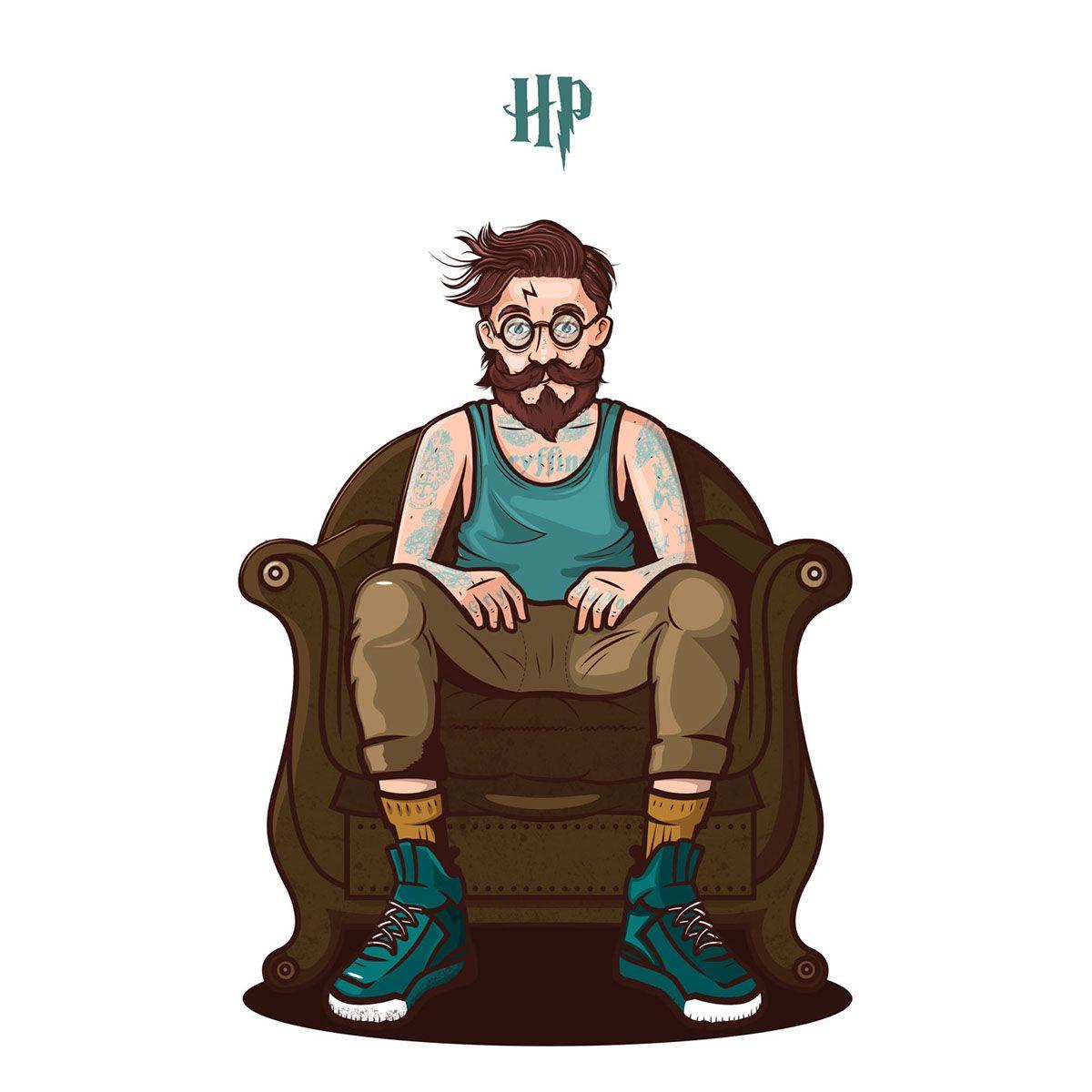 Hipster Potter on Behance