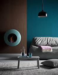 petrolfarbene wand graue m bel schlafzimmer deko. Black Bedroom Furniture Sets. Home Design Ideas