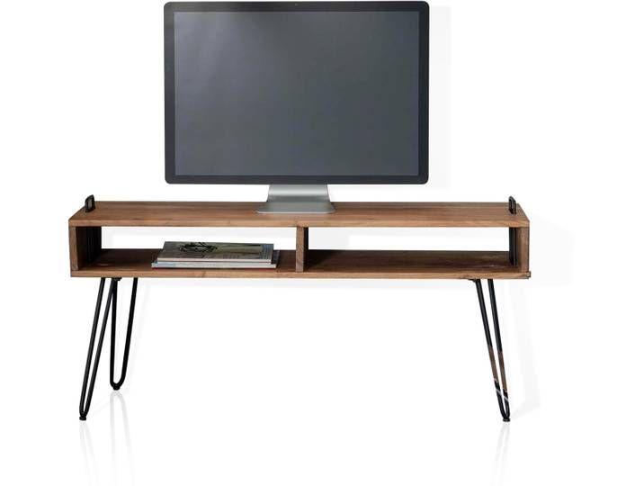 Ojan Tv Lowboard Material Massivholz Akazie Massiv Flat Screen