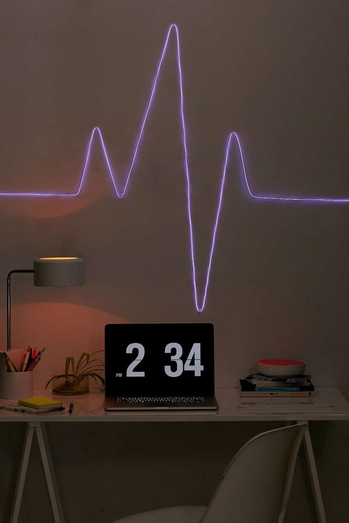 32 Things That Ll Make Even The Tiniest Apartment Feel Roomy Home Decor Cool Rooms Neon Bedroom