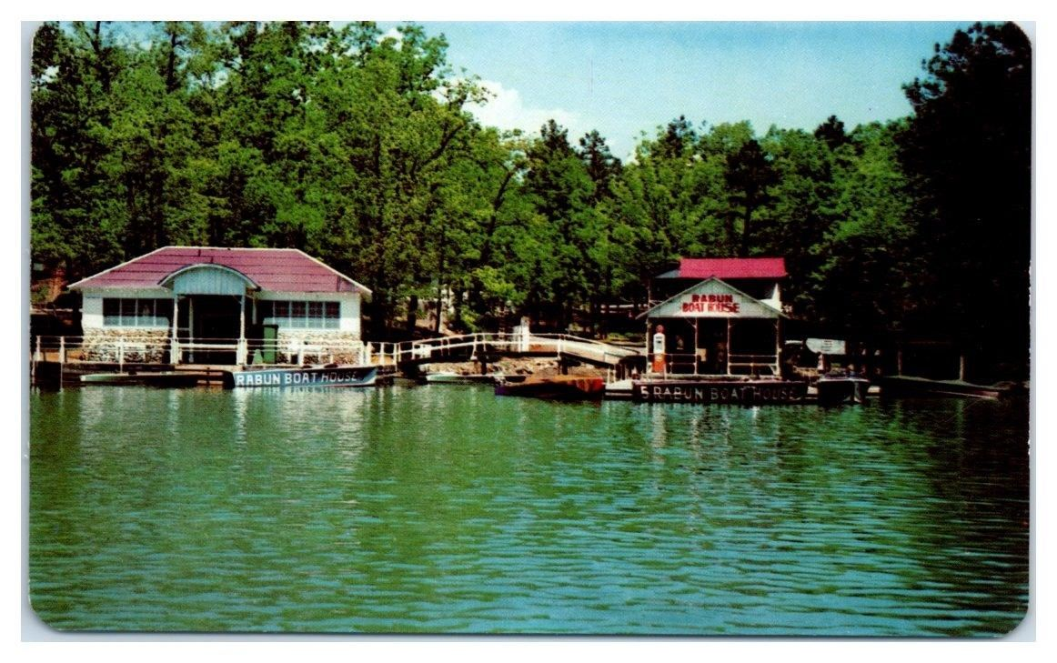 1950s60s rabun boat house lake rabun lakemont ga
