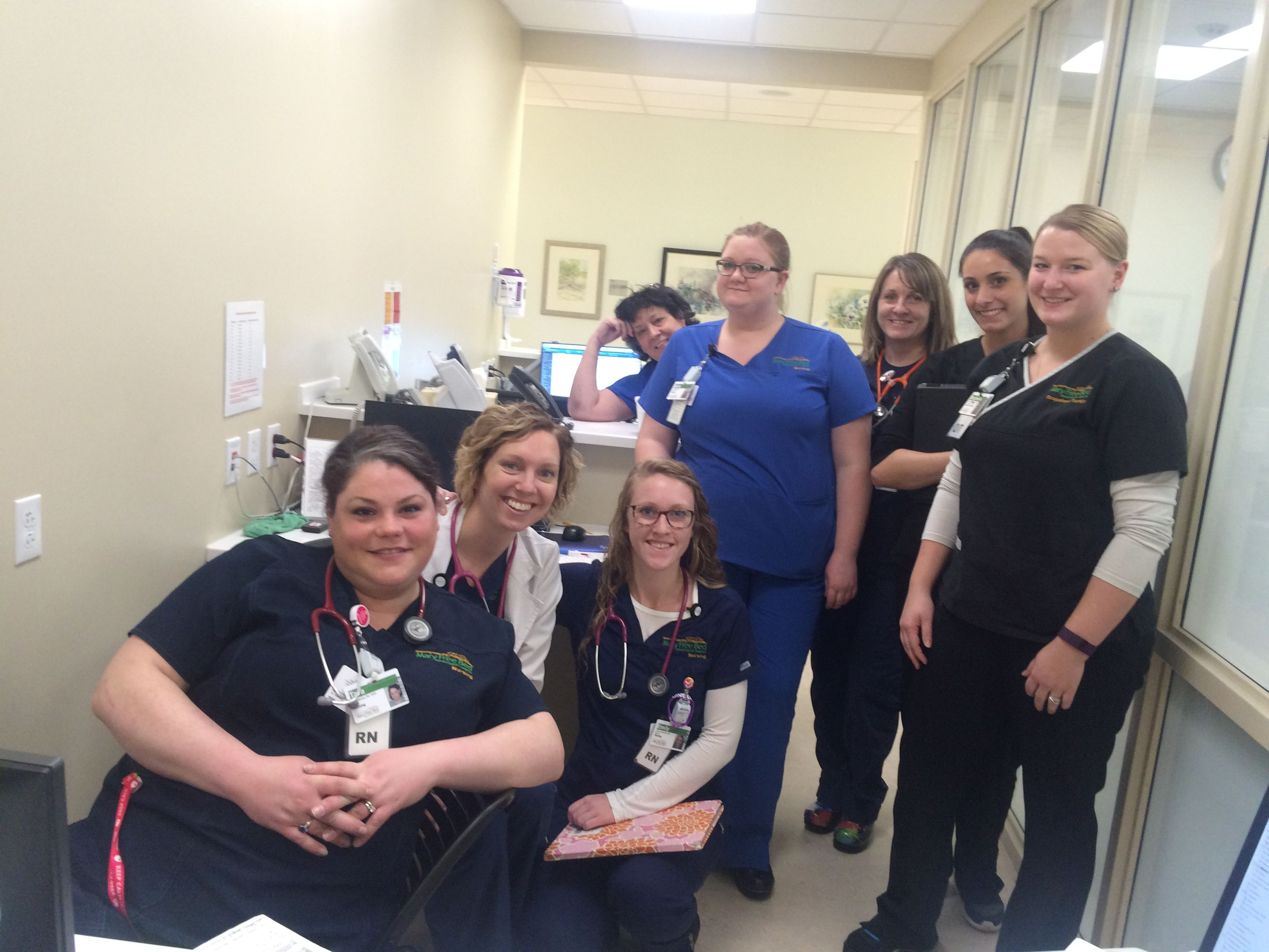 These nurses all their Mary Free Bed patients with