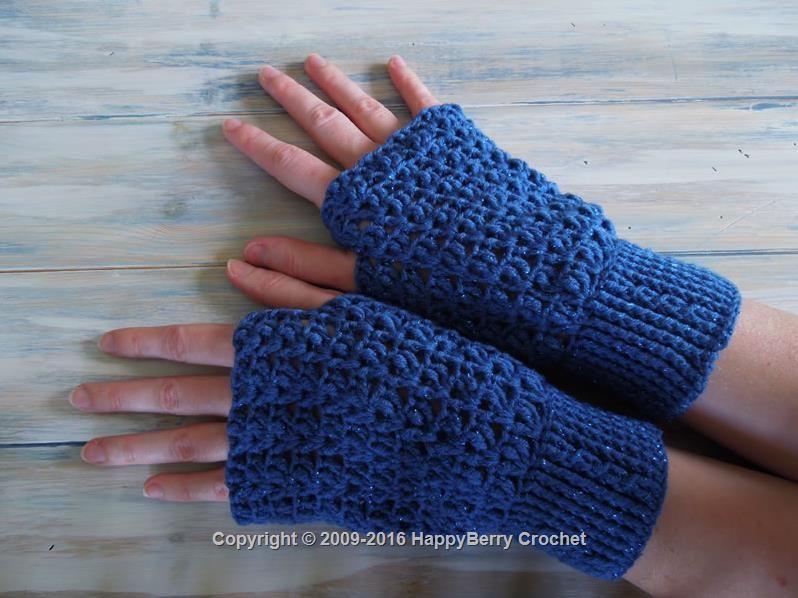 Cable Cuff Fingerless Mittens   Crochet   Pinterest   Ganchillo ...