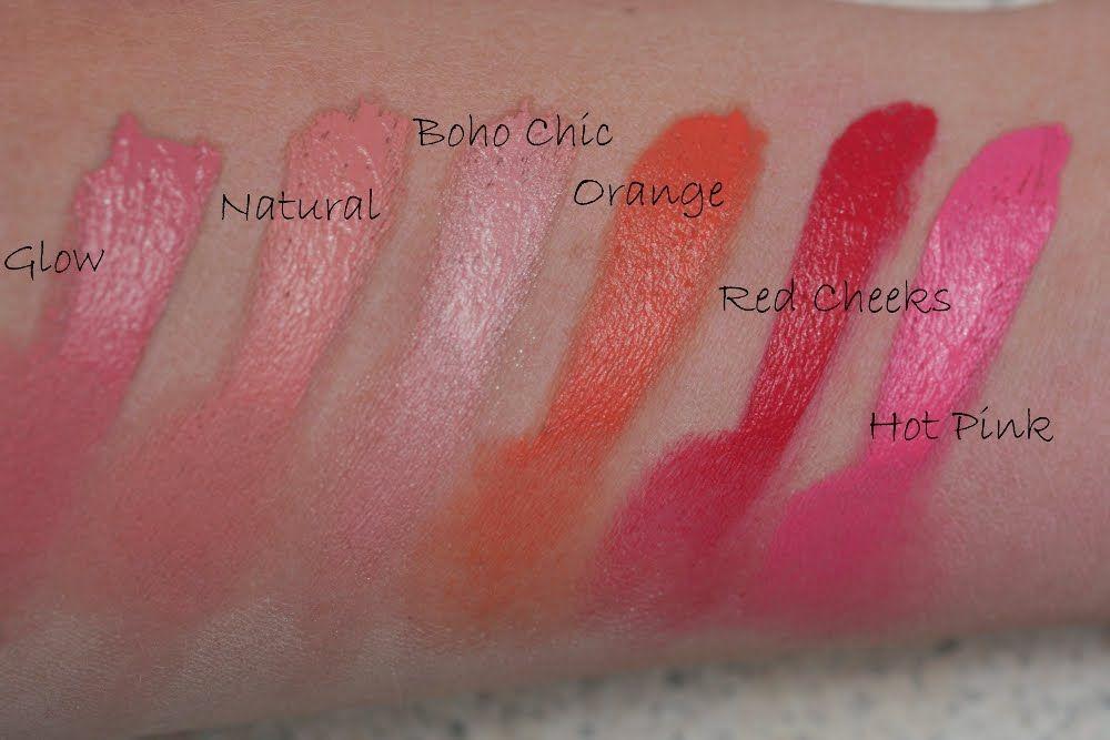 Nyx Cream Blushes Cheek Colours Pinterest Cream Blush