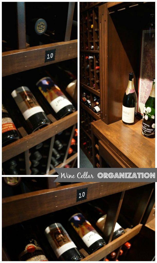 Wine Cellar Organization