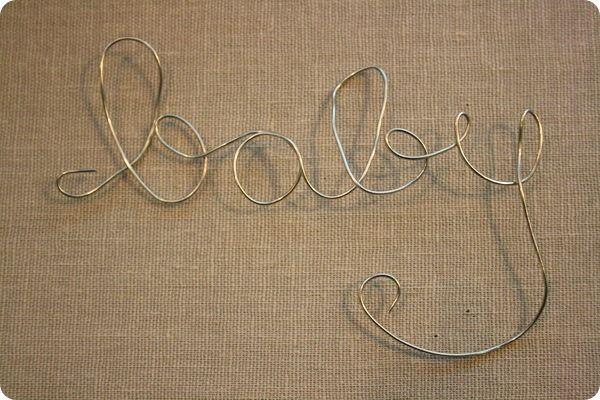wire words   Glühbirnen, Schmuck selber machen und Babys