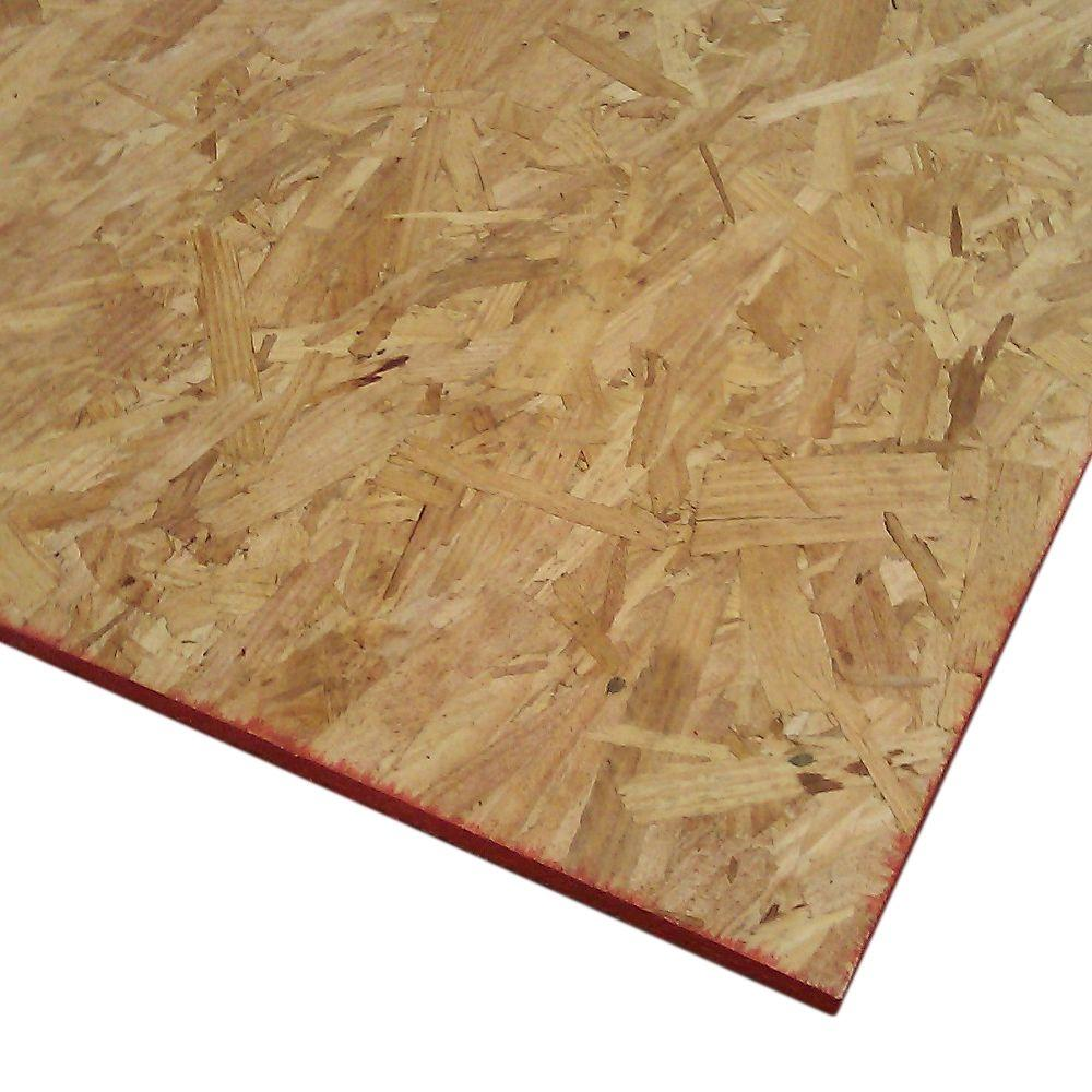Dimensions Oriented Strand Board Common 7 16 In X 2 Ft X 4 Ft Actual 0 435 In X 23 75 In X 47 75 In 15114 The Home Depot Oriented Strand Board Strand Board Project Panels