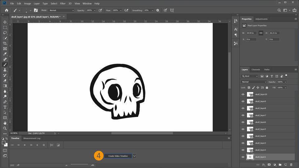 How To Create An Animated Gif In Photoshop Adobe Photoshop Tutorials Adobe Photoshop Cs6 Complete Tutorial Photoshop Learn Photoshop Adobe Photoshop Tutorial