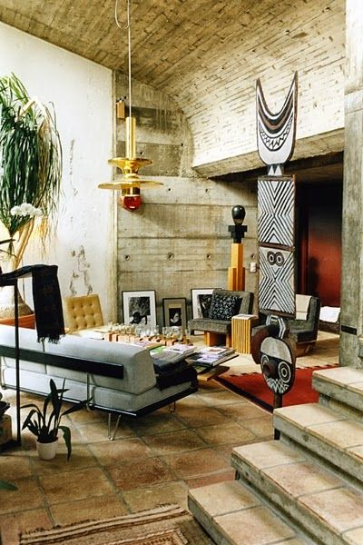 Cultured Home Afrocentric Style Loft African Interior Design