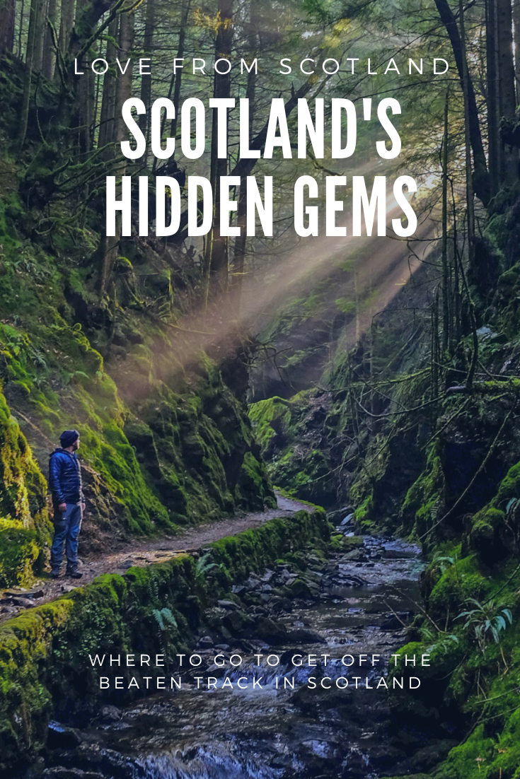 Scotland has rather a lot of hidden gems - from an alternative to Skye to a highland capital - here's how to visit some of Scotland's hidden gems! via @LoveFromScotland
