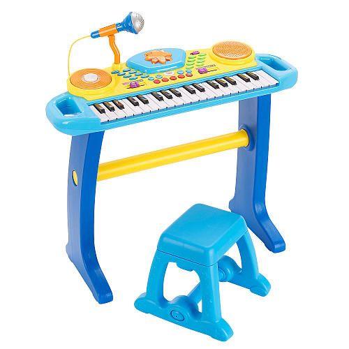 Fun Years Light Up Keyboard With Stool Fun Years