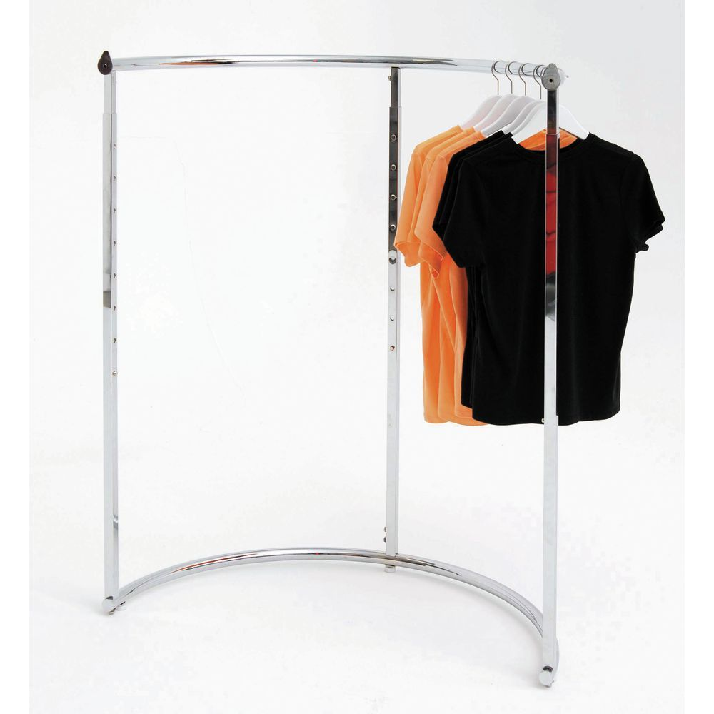 Half Round Clothing Rack Chrome Clothing Rack Garment Racks Clothes