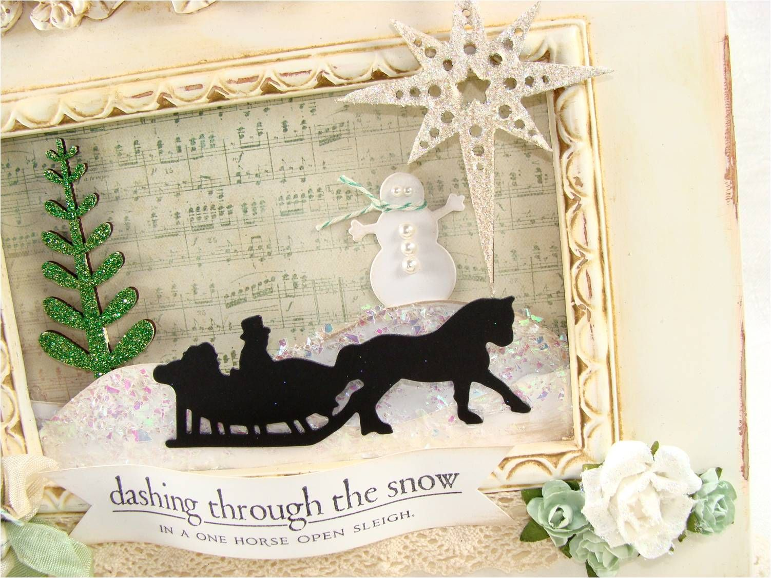 Christmas Shadow Box Projects