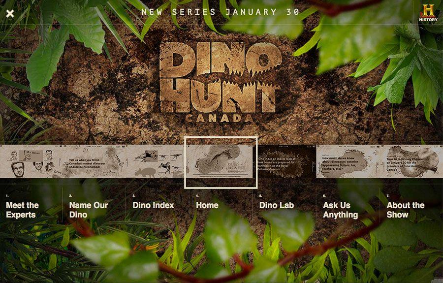 FWA winner | Dino Hunt Canada Interactive