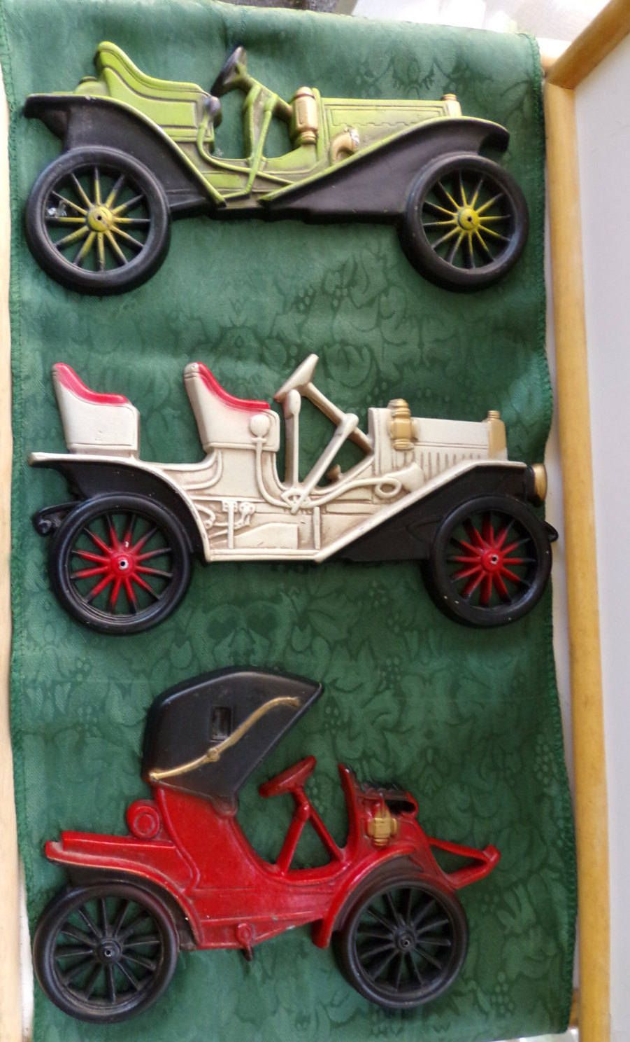 Sale Midwest Products Company Vintage Hand Cast Aluminum Car Wall ...