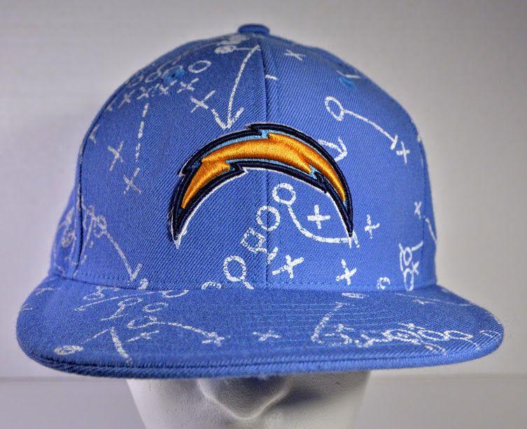 new styles de6ca 223a0 REEBOK Official NFL Hat Football LOS ANGELES San Diego Chargers Cap Hat 7  1 4EC
