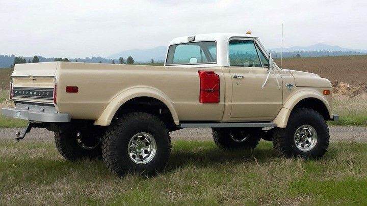 Chevy K50 Truck (aka Drill Sergeant) is ready for it's first