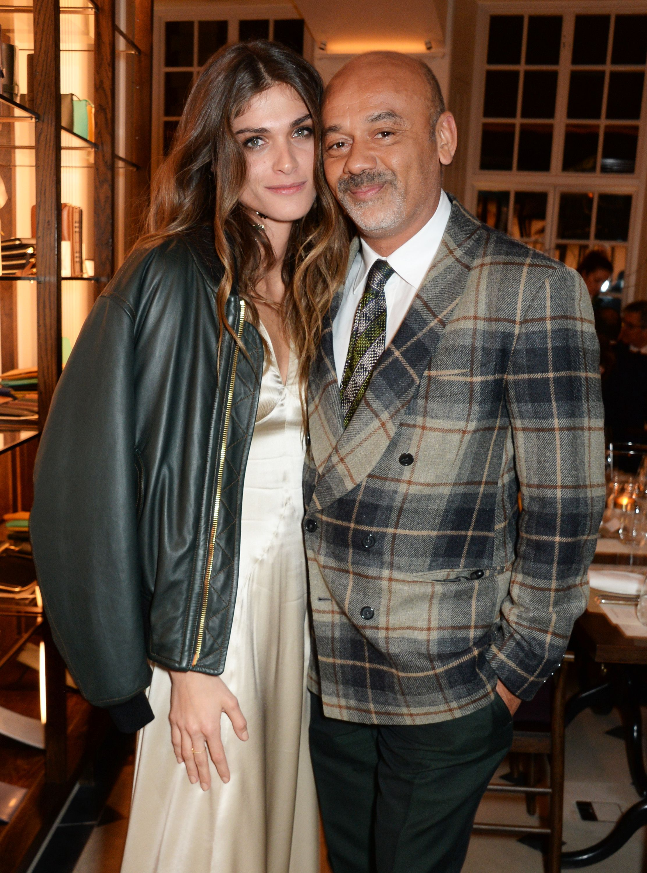1239b454f25 mytheresa woman Elisa Sednaoui Dellal with her godfather, iconic ...