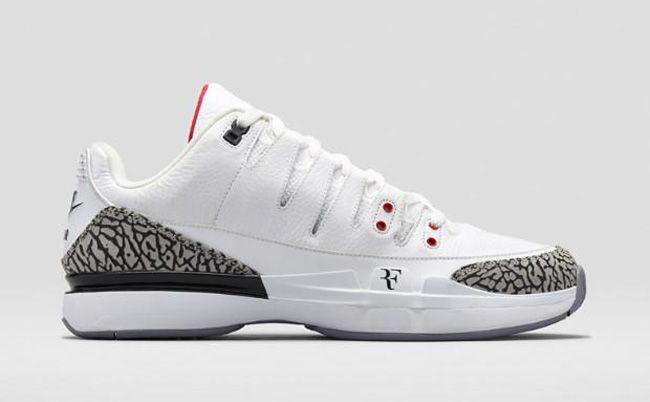Air Jordan 3 x Nike Zoom Vapor 9 Tour x Roger Federer (With images